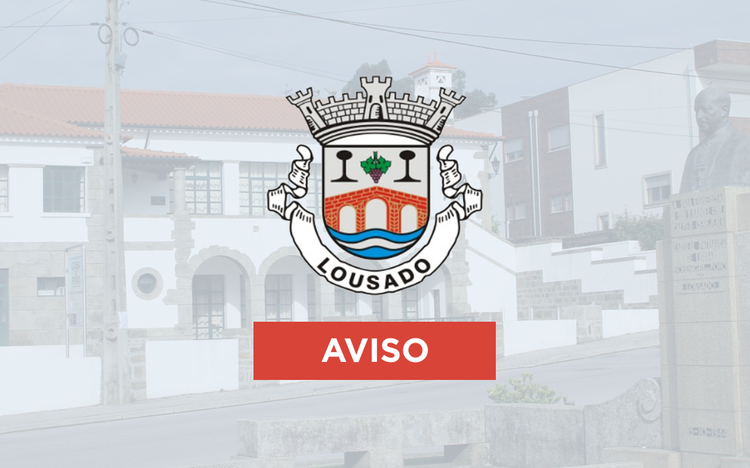 AVISO CEMITÉRIO DE LOUSADO