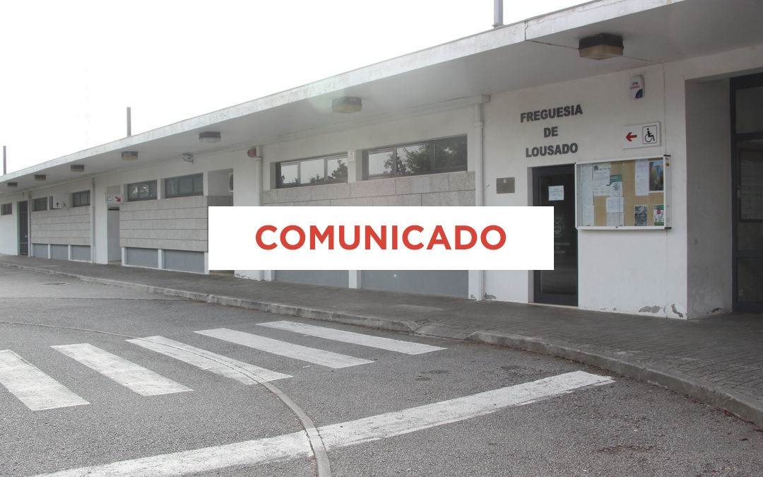COVID-19 – POSTO MÉDICO DE LOUSADO
